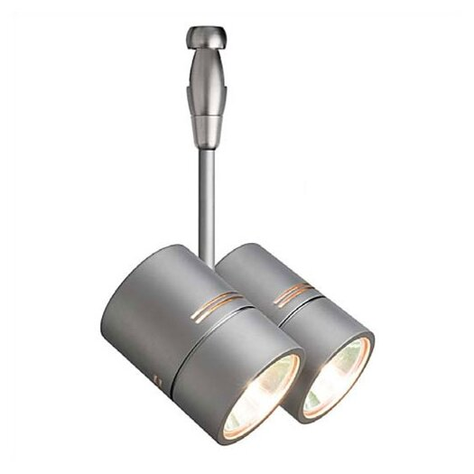 LBL Lighting Twin 2 Light Spot Swivel Track Head - Fusion Track Adaptable