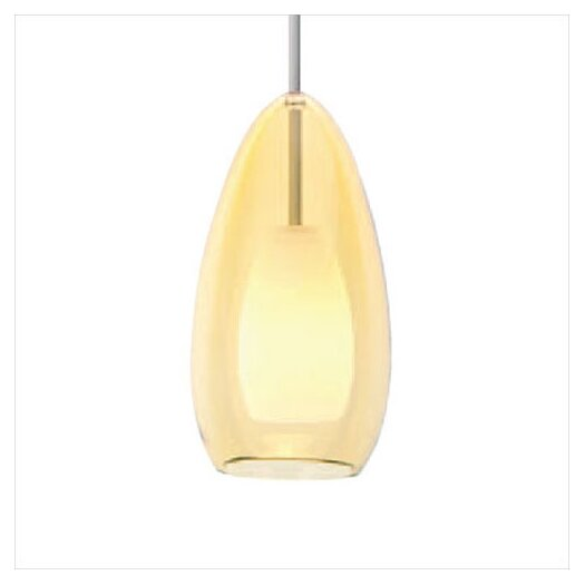 LBL Lighting Tear-SI Coax 1 Light Mini Pendant