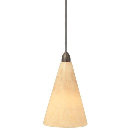 LBL Lighting Onyx 1 Light Pendant