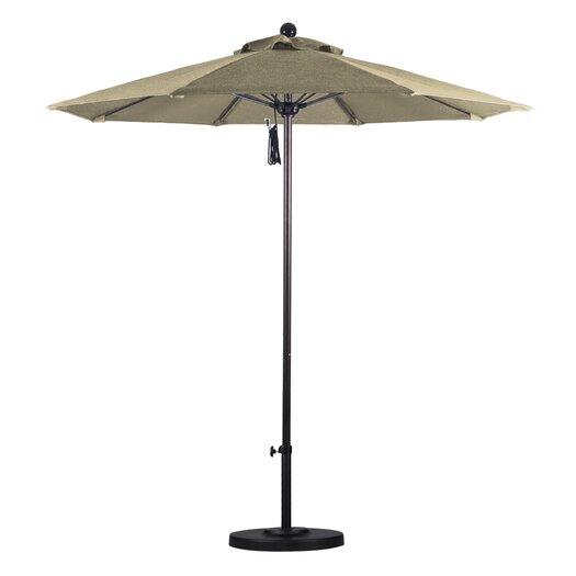 California Umbrella 7.5' Fiberglass Market Umbrella