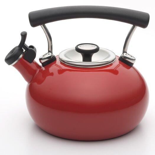 Circulon Contempo 2-qt. Tea Kettle in Red