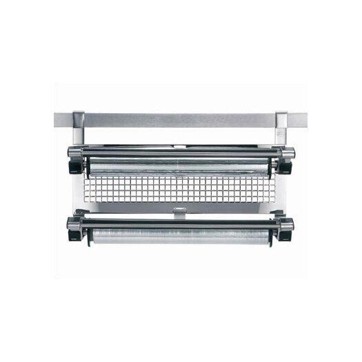 Rosle Stainless Steel Kitchen Foil Holder / Wrap Dispenser