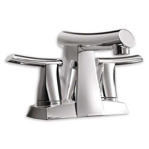 American Standard Green Tea Centerset Bathroom Sink Faucet with Double Lever Handles