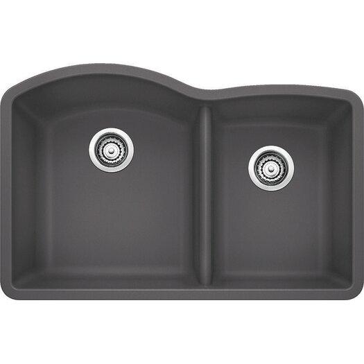 "Blanco Diamond 32"" x 20.84"" Bowl Undermount Kitchen Sink"