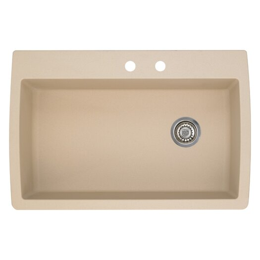 Blanco Sink Mats : ... -Basin Granite Drop/Undermount Residential Kitchen Sink by Blanco
