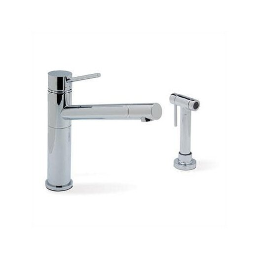 Blanco Alta Single Handle Deck Mounted Kitchen Faucet  with Side Spray
