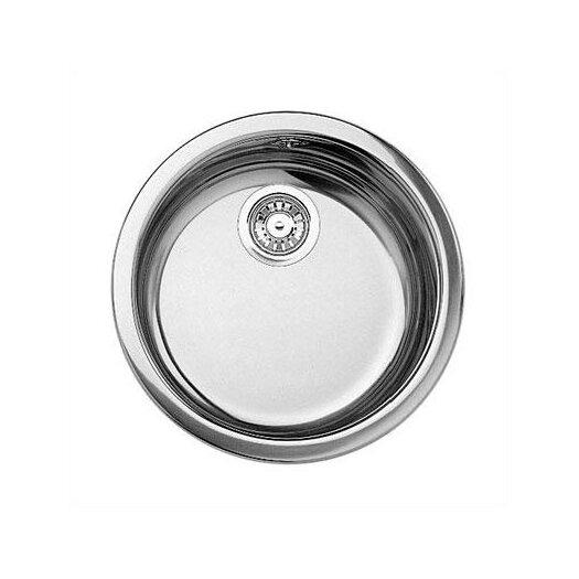 """Blanco Rondo 18.13"""" x 15.38"""" Round Kitchen Sink"""