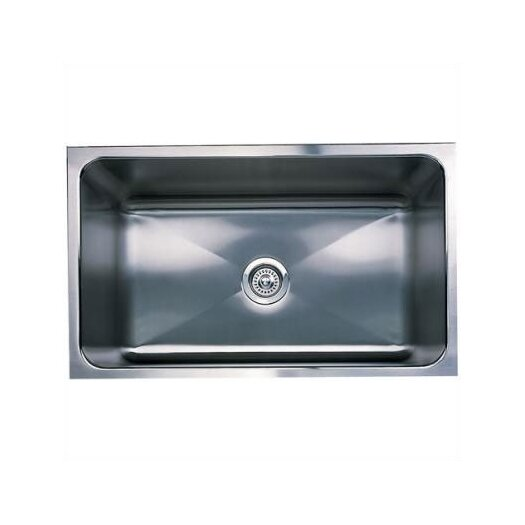 "Blanco Magnum 31.25"" x 18"" Large Single Bowl Undermount Kitchen Sink"