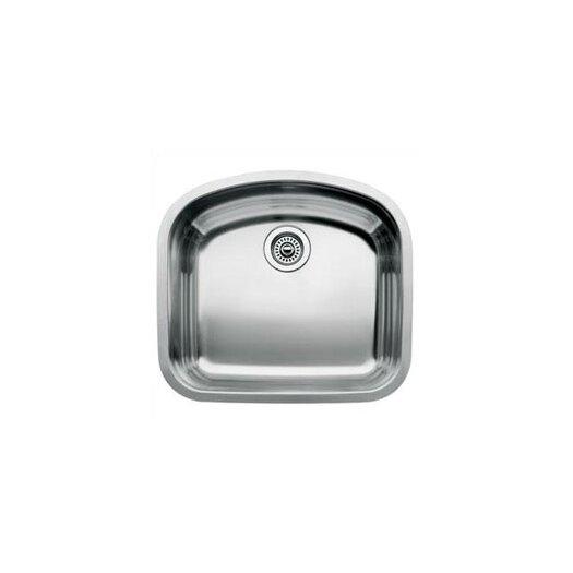 """Blanco Wave 22.44"""" x 20.44"""" Single Bowl Undermount Kitchen Sink"""