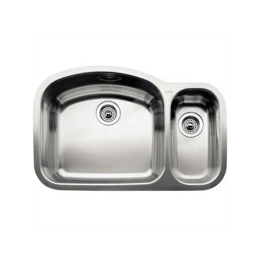 """Blanco Wave 32.09""""  x 20.88"""" Bowl Undermount Kitchen Sink"""
