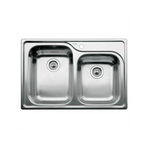 "Blanco Supreme 33"" x 22"" Bowl Kitchen Sink"