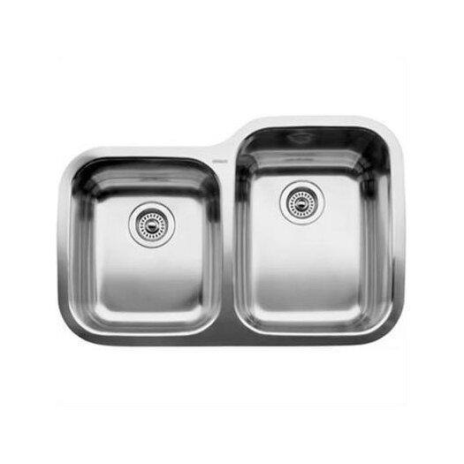 """Blanco Supreme 31.31"""" x 20.88"""" Reverse Bowl Undermount Kitchen Sink"""