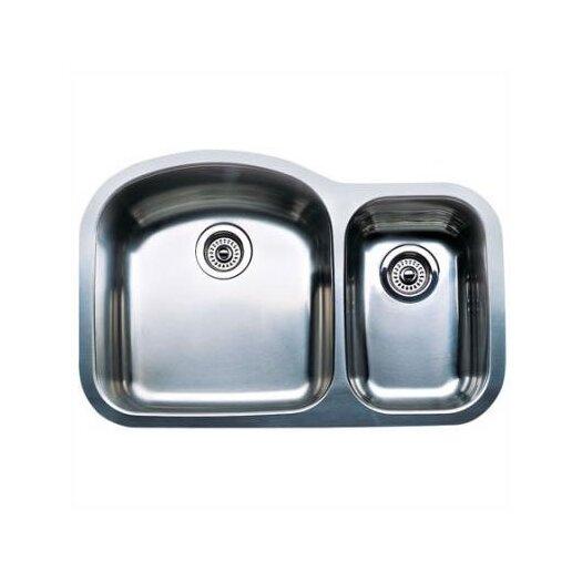 """Blanco Wave 31.5"""" x 20.88"""" Plus Bowl Undermount Kitchen Sink"""
