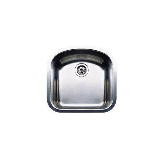 "Blanco Wave 19.69"" x 20.5"" Plus Single Bowl Undermount Kitchen Sink"
