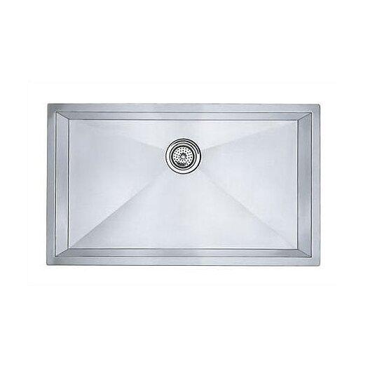 "Blanco Precision 32"" x 19"" Super Single Bowl Undermount Kitchen Sink"