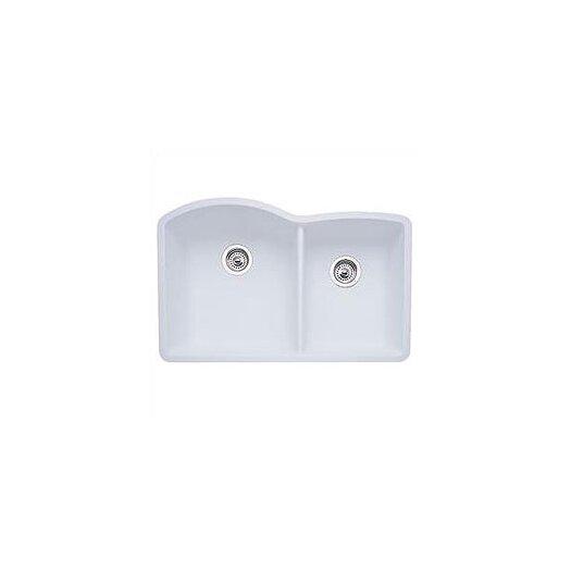 "Blanco Diamond 32"" x 19"" Bowl Undermount Kitchen Sink"