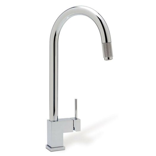 Blanco Cubiq Single Handle Deck Mounted Kitchen Faucet  with Lever Handle