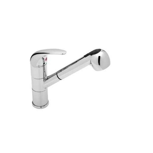 Blanco Torino Single Handle Deck Mounted Kitchen Faucet with Pull Out Spray