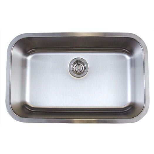 """Blanco Stellar 28"""" x 18"""" Super Single Bowl Undermount Kitchen Sink"""