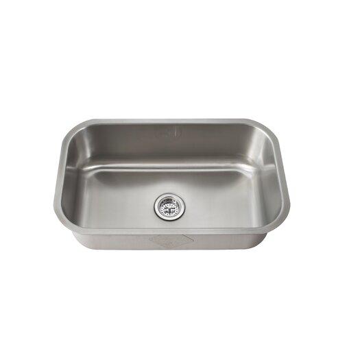 """Schon 30"""" x 18"""" Single Bowl Kitchen Sink"""