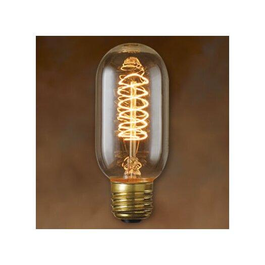 Bulbrite Industries 40W Amber 120-Volt Incandescent Light Bulb