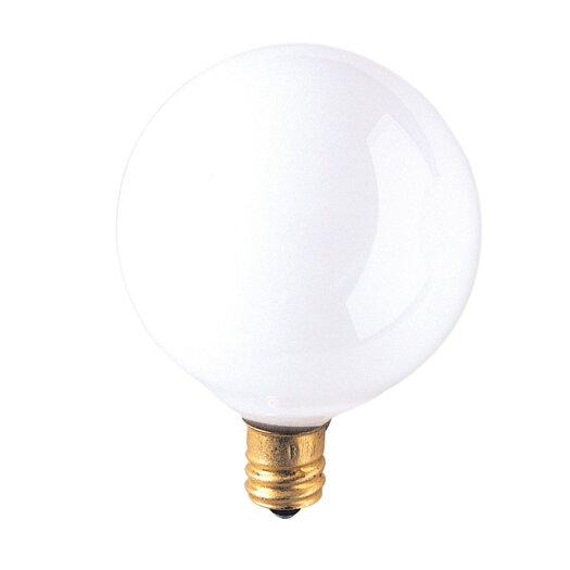 Bulbrite Industries Candelabra 25W Frosted 130-Volt (2700K) Incandescent Light Bulb