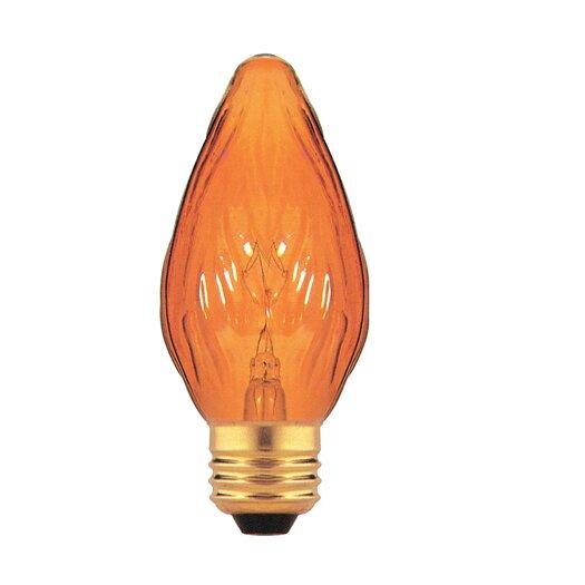 Bulbrite Industries Amber 130 - Volt (2700K) Incandescent Light Bulb (Pack of 8)