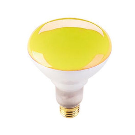 Bulbrite Industries 75W Amber 120-Volt Halogen Light Bulb