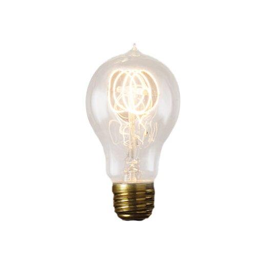 Bulbrite Industries Nostalgic 60W Amber 120-Volt Incandescent Light Bulb