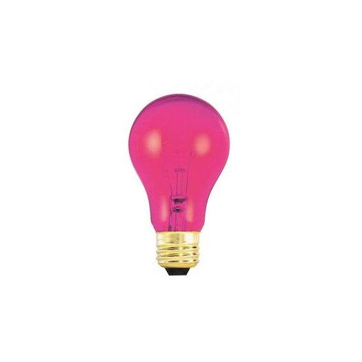 Bulbrite Industries 25W Pink 120-Volt Incandescent Light Bulb