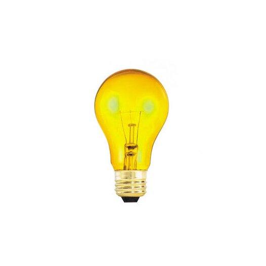 Bulbrite Industries 25W Yellow 120-Volt Incandescent Light Bulb