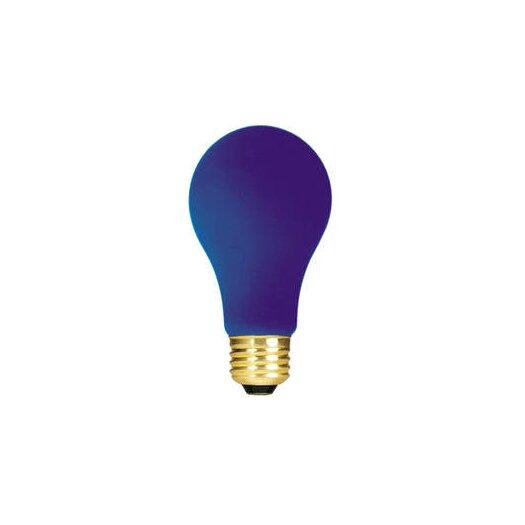 Bulbrite Industries Blue 120-Volt Incandescent Light Bulb