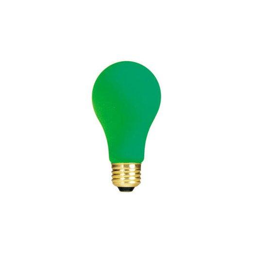 Bulbrite Industries Green 120-Volt Incandescent Light Bulb
