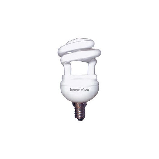 Bulbrite Industries 5W 120-Volt (2800K) Compact Fluorescent Light Bulb