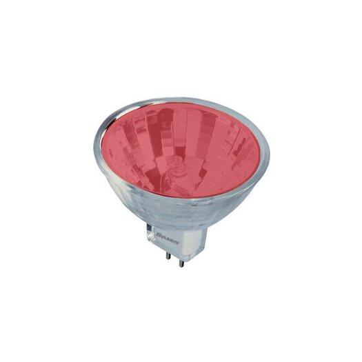 Bulbrite Industries Bi-Pin Red 12-Volt Halogen Light Bulb