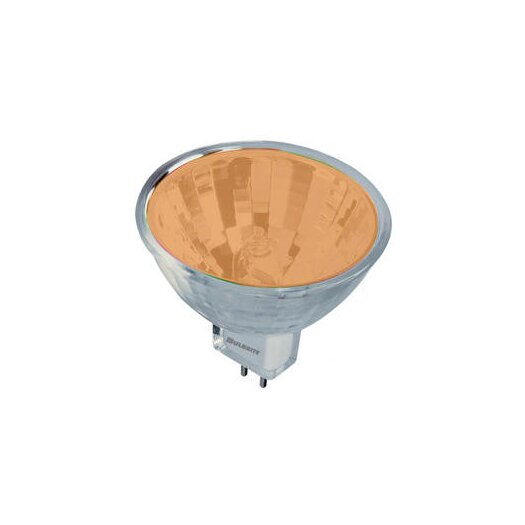 Bulbrite Industries Bi-Pin Orange 12-Volt Halogen Light Bulb