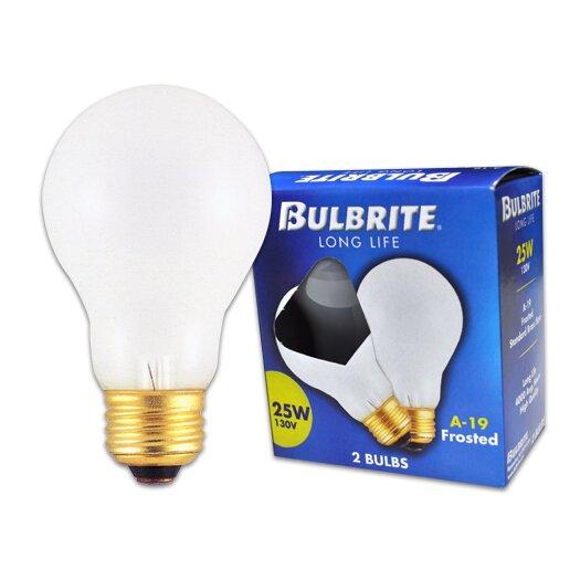 Bulbrite Industries Frosted 130-Volt Incandescent Light Bulb