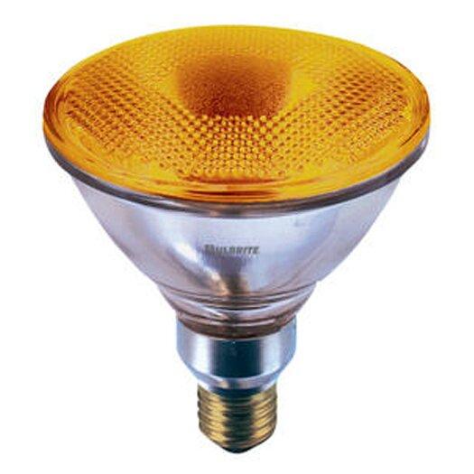 Bulbrite Industries 90W Amber 120-Volt Halogen Light Bulb
