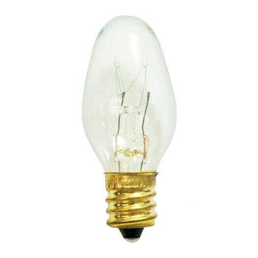 Bulbrite Industries 7W C7 Christmas Light