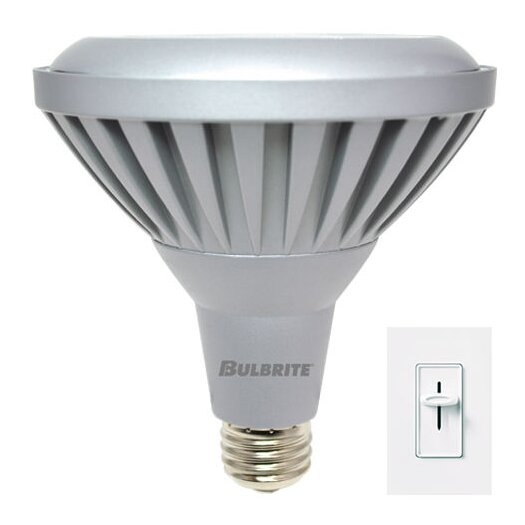 Bulbrite Industries 11W LED PAR38 Dimmable Narrow Flood Light Bulb in Warm White