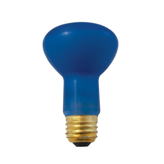 Bulbrite Industries 50W Blue Incandescent Light Bulb