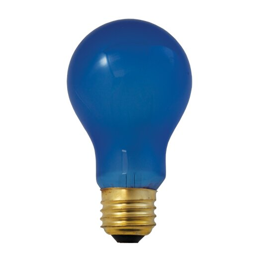 Bulbrite Industries 60W Blue Incandescent Light Bulb