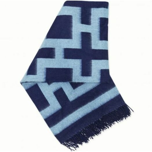 Jonathan Adler Richard  Nixon Baby Alpaca Wool Throw