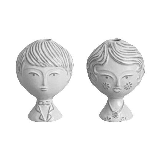 Jonathan Adler Utopia Reversible Boy & Girl Bud Vase
