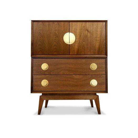 Claude Modular 2 Door Storage Cabinet-Claude Modular Credenza Base
