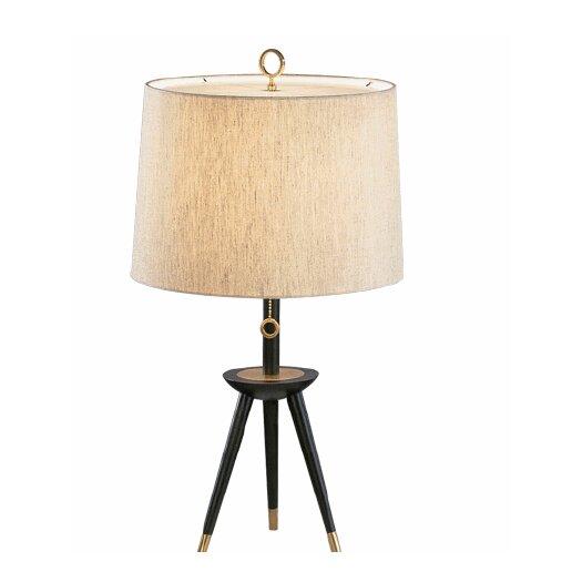 "Jonathan Adler Ventana Tripod 26"" H Table Lamp with Empire ..."