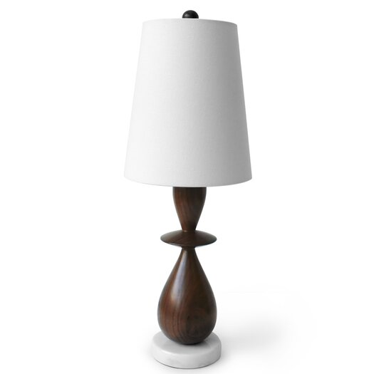 """Jonathan Adler Buenos Aires 24"""" H Table Lamp with Empire Shade"""