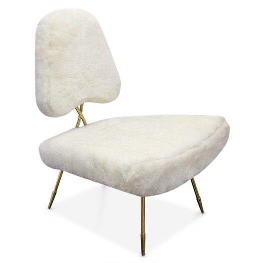 Jonathan Adler Maxime Fur Side Chair Allmodern