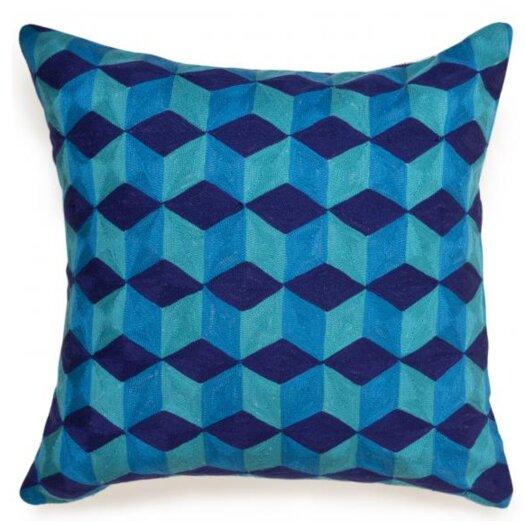 Jaiour Cubes Linen Throw Pillow