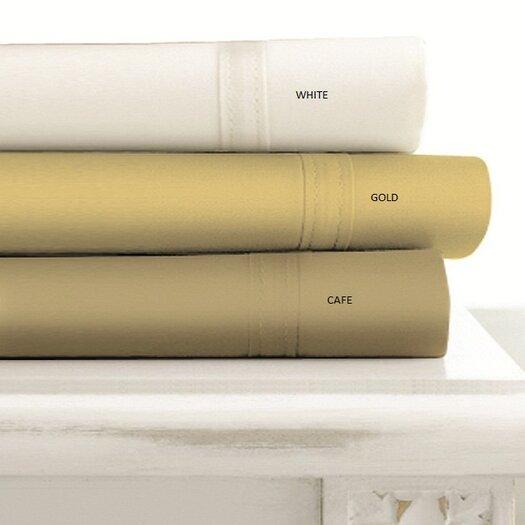 Tribeca Living 500 Thread Count Egyptian Cotton Extra Deep Pocket Sheet Set
